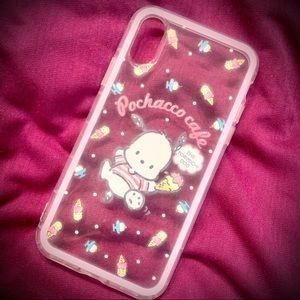 Kawaii Sanrio Dog Pochacco iPhone Case: Ice Cream